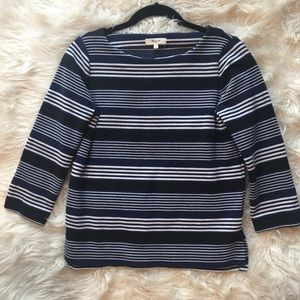 Madewell Striped Boatneck Top